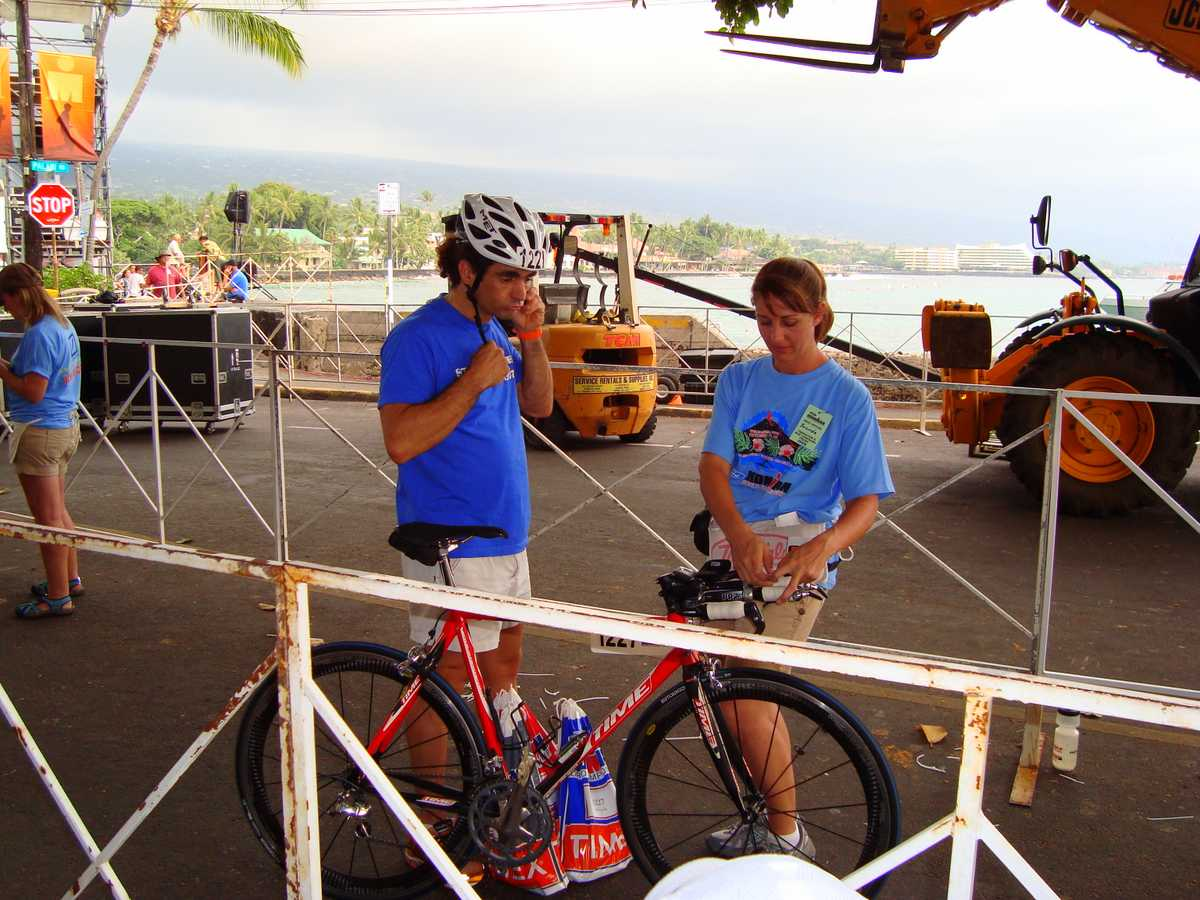 Rookie Ironman Hawaii 2008